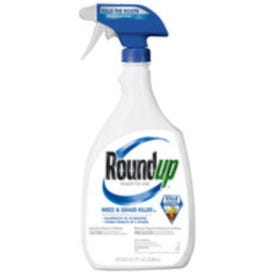 Roundup 5003470 Weed and Grass Killer, Liquid, Trigger Spray Application, 30 oz Bottle