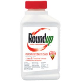 Roundup 5005510 Weed and Grass Killer, Liquid, Spray Application, 1 pt Bottle