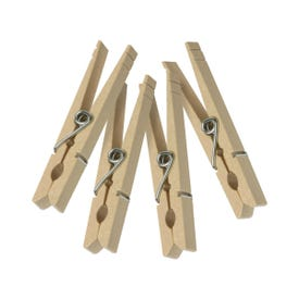 Honey-Can-Do DRY-01375 Classic Clothespin, Birch, Natural