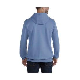 Carhartt K288-BLKREGMA Men's Sweatshirt, M, Regular, Cotton/Polyester, Black, Hooded Collar