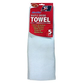 Tiger Accessory Microfiber Waffle Drying Towel 5 Sq Ft