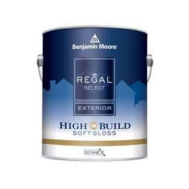Benjamin Moore® Regal® Select Exterior High Build Soft Gloss White RM Gallon