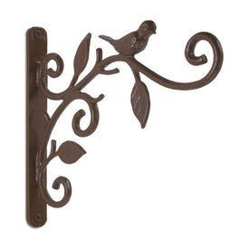 Panacea 85627 Plant Bracket, Iron, Dark Bronze, Wall Mounting