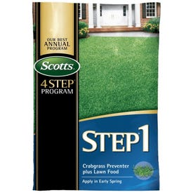 Scotts STEP 1 39181 Lawn Food with Crabgrass Preventer 5K, Granules