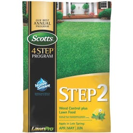 Scotts Lawn Care Step 2 Weed Control Plus Fertilizer 5000 Sq Ft