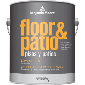 Benjamin Moore® Floor & Patio Low Sheen Enamel 1X Base Gallon