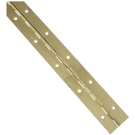 National Hardware V570 Series N265-363 Continuous Hinge, Brass