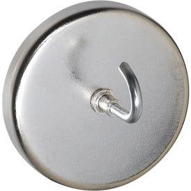 National Hardware V7531 Series N302-216 Magnetic Hook, Steel, Nickel, 20 lb