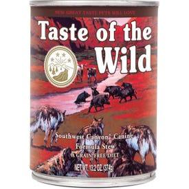 Taste of the Wild 418412 Southwest Canyon Canine Dog Food, Wet, 13.2 oz