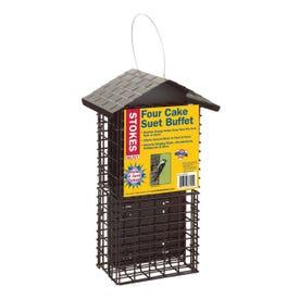 Stokes Select 38129 Suet Buffet Bird Feeder, Steel