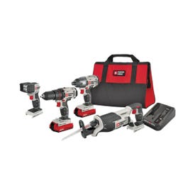 PORTER-CABLE PCCK615L4 Combo Kit, Battery Included: Yes