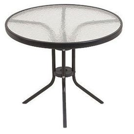 TABLE,BISTRO,GLASS,24RND