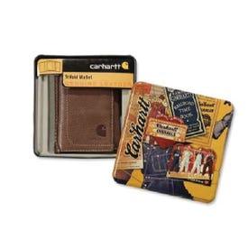 Carhartt 61-2200-30 Tri-Fold Wallet, 8-Pocket, Black