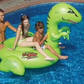 Giant T-Rex Pool Float
