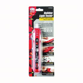 GB VD7500LBCS Non-Contact Holiday Lights Tester, Battery, Red
