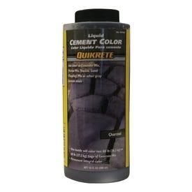 Quikrete 131700 Cement Color, Charcoal, Liquid, 10 oz Bottle