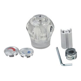 BrassCraft SH5805 Handle, Acrylic, For: Showers and Tubs