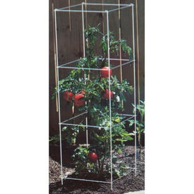 Panacea 89310 Tomato Tower, 47 in H, Steel, Green, Powder-Coated