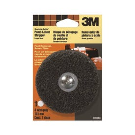 3M 9099 Paint and Rust Stripper Kit, 4 in Dia