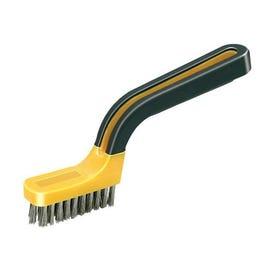 Allway Tools SB1 Stripper Brush, 7 in OAL, Soft-Grip Handle