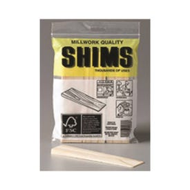 Nelson PSH6/9-72/56 Shim, 6 in L, 1-1/2 in W, Pine Wood, Natural