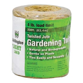 Wellington 13-209/14255 3-Ply Twine, 4 lb Weight Capacity, 208 ft L, #24 Dia, Natural