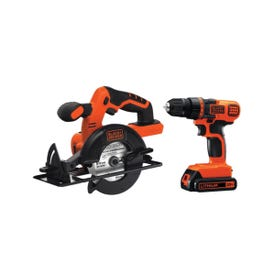 Black+Decker BD2KITCDDCS Combo Kit, Battery Included: Yes