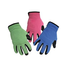 Aubuchon Work Gloves with Touchscreen Compatibility, Assorted Colors