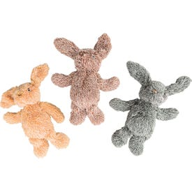 Spot 54130 Dog Toy, Plush Toy, Bunny, Assorted