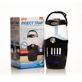 Pic OUT-LAN Insect Trap Lantern with Bluetooth Speaker