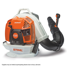 STIHL MAGNUM BR 800-X Backpack Blower BR 800 X, Gas, 79.9 cc Engine Displacement, 4-Cycle Engine, 912 cfm Air