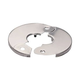 Plumb Pak PP857-2 Floor and Ceiling Plate, 3-1/2 in W, Chrome
