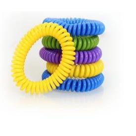 Pic Bugables 6PK-BCBTS Mosquito Wristband Resealable Bag
