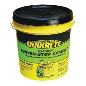 Quikrete 1126-20 Hydraulic Cement, Gray, Solid, 20 lb Pail