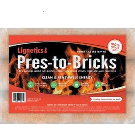Pres-To-Bricks, 9 Pk.