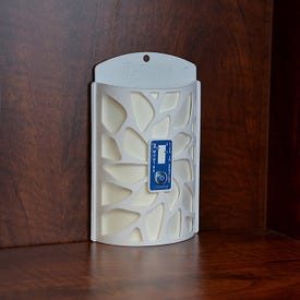 TERRO T2950 Closet and Pantry Moth Trap Plus Alert, Solid, Flat, Free-Standing, Wall Mounting