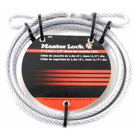 Master Lock Flexible Steel Cable 6'
