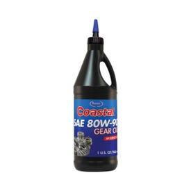 Coastal 12401 Gear Oil Clear Amber, 1 qt Bottle