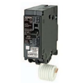 Siemens MP120GFA Circuit Breaker, GFCI, Type MP-T, 20 A, 1-Pole, 120/240 V, Instantaneous Trip, Plug-In Mounting