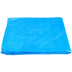 Foremost 80810 Cut Size Tarp, 8 ft L, 10 ft W, 5 mil Thick, Polyethylene, Blue