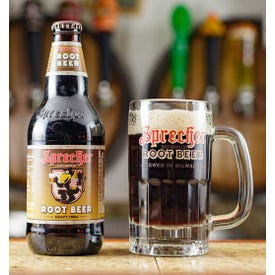 Sprecher Root Beer Soda 16 oz. 4 pk