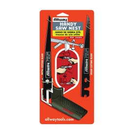 Allway Tools HSN Handy Saw Nest, 7-1/2 in L Blade, 10 and 24 TPI