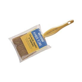 WOOSTER 1123-2 Paint Brush, 2 in W, 2-7/16 in L Bristle, China Bristle, Beaver Tail Handle