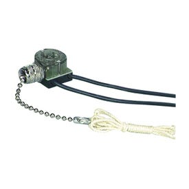 Eaton Wiring Devices BP458NP-SP Canopy Switch with Bell End, Lead Wire Terminal, 1/3/6 A, 125/250 V