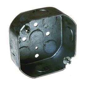 RACO 8125 Octagon Box, Steel, Gray