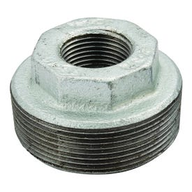 Smith-Cooper 34HB1006004C Hex Bushing, 3/4 x 1/2 in, Threaded, Malleable Iron