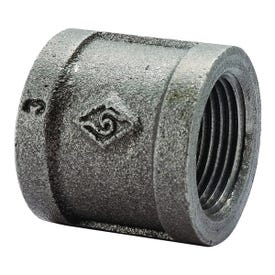 Worldwide Sourcing 21-1/2B Pipe Coupler, 1/2 in Threaded