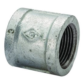 Worldwide Sourcing 21-1/2G Pipe Coupler, 1/2 in Threaded