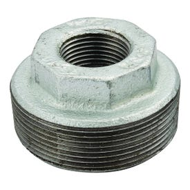 Smith-Cooper 34HB1004002C Hex Bushing, 1/2 x 1/4 in, Threaded, Malleable Iron