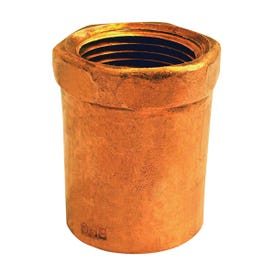 EPC 103 Series 30150 Pipe Adapter, 3/4 in, Sweat x FNPT, Copper